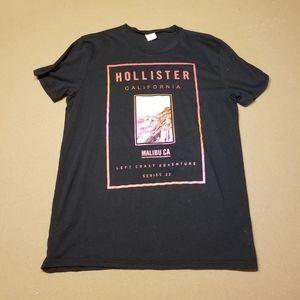 Hollister black Malibu t-shirt